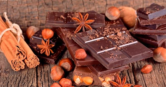 Angolo choco bar con cioccolato