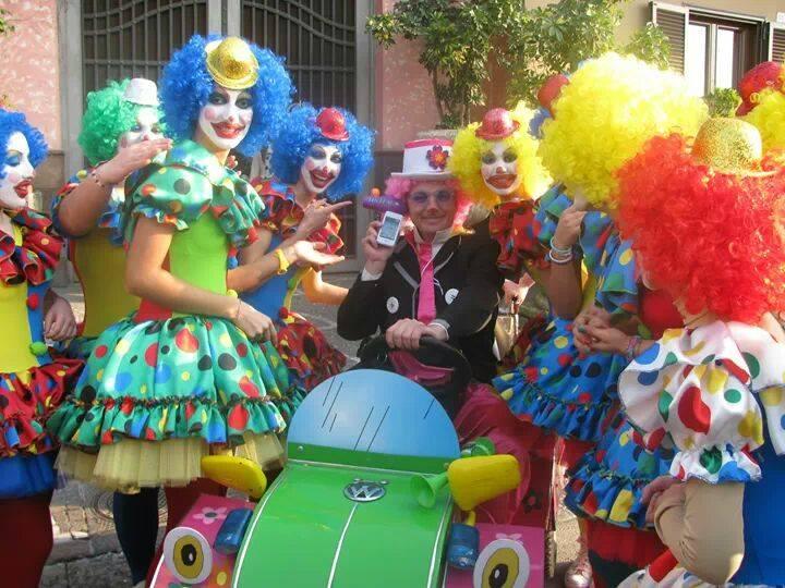 Clown per feste di compleanno e cerimonie