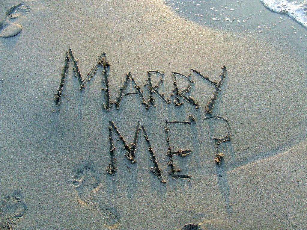 Proposta di matrimonio e sorprese