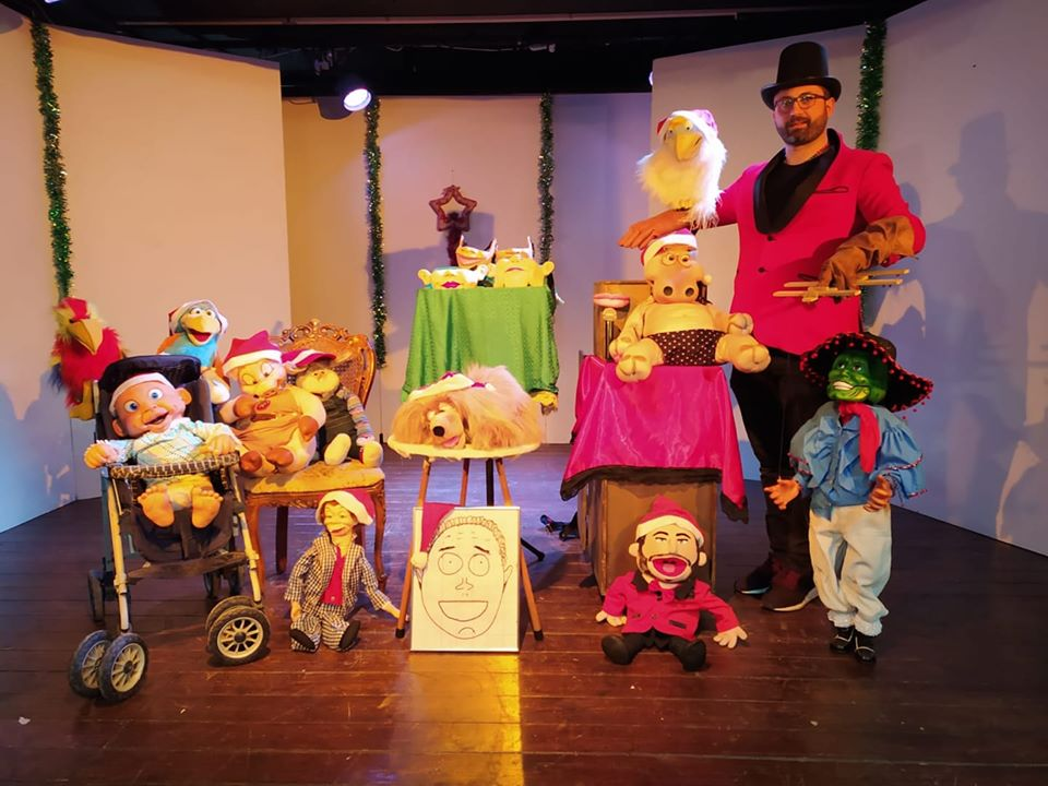 Spettacolo ventriloquo per feste