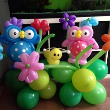Balloon art per feste di compleanno